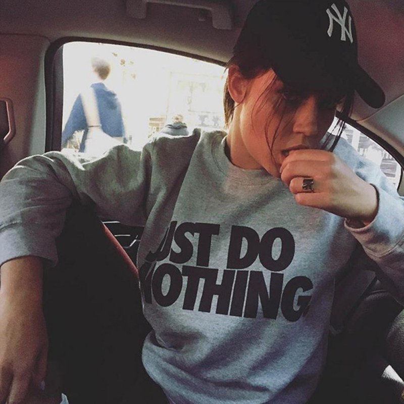 Свитшот Just Do Nothing