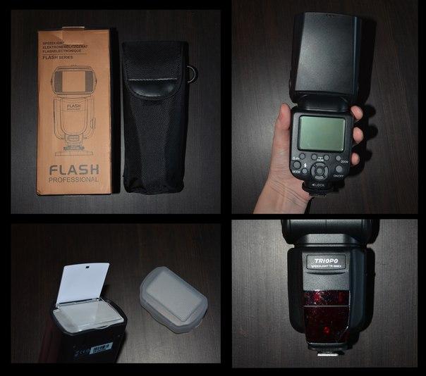 Хочу поделиться своим впечатлением от этого заказа. http://ru.aliexpress.com/item/New-Triopo-TR-586EX-Wireless-Flash-Mode-TTL-Speedlite-Speedlight-For-Nikon-D750-D800-D3200-D7100/32361765322.html Очень довольна,для