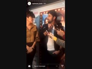 Видео с премьеры в Измире с аккаунта ТРЦ Optimum