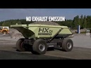 Electric Autonomous Hauler HX1 Battery Electric Hybrid Technology Innovation Volvo Concept Labs