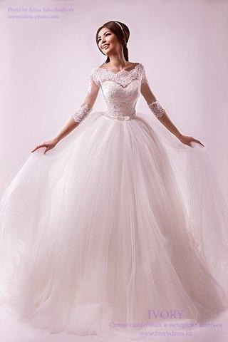 Свадебное платье фото цена в алматы