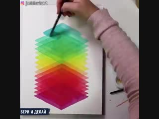 Интуитивное искусство, основанное на игре текстур и цветов.