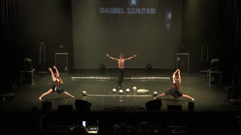 DANIEL TEPLITSKI at the Grand Final of TeenStar Singing Dance competition