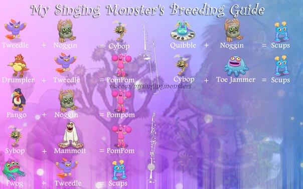 Как сделать сварливира в игре my singing monsters
