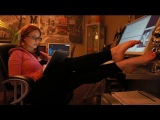 Beckys FOOT FETISH Film: Multitasking An a Appetizer 4 the Foot Admirer