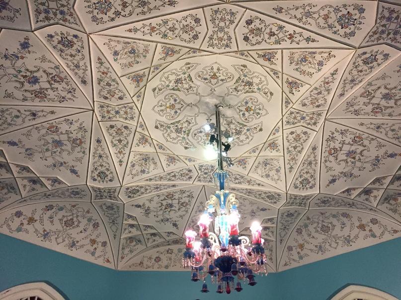 Новые открытия. Удивительно красивые потолки