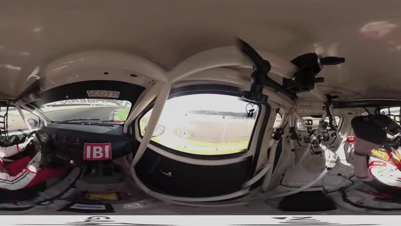 Abarth 695 EVO __ POV Onboard 360° __ Cosimo Barberini __ Trofeo Abarth Selenia