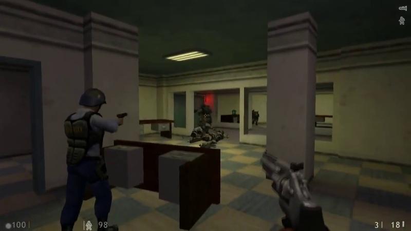 [Прохождение] Half-Life 1 Decay [6 - Код Зелёный] [RUS]
