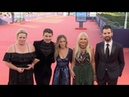 Sarah Jessica Parker and rest of the cast for Here and now red carpet during the 2018 Deauville film