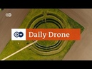 DailyDrone Goseck Circle DW English 2017 - Гозекский круг нем. Kreisgrabenanlage von Goseck, коммуна Гозек, Саксония-Ангальт