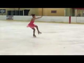 Natasha in Portland Ice Skating CLub, Vegas, USA