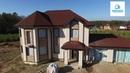 Двухэтажный дом из газобетона Проектирование и строительство СК Симплекс г Иркутск