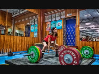 Становая тяга 120 кг  года (Анна Мамонт).