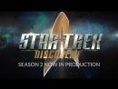 Видео о съемках второго сезона Звездный путь Дискавери