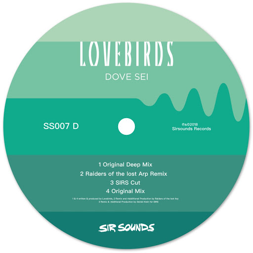 Lovebirds альбом Dove Sei