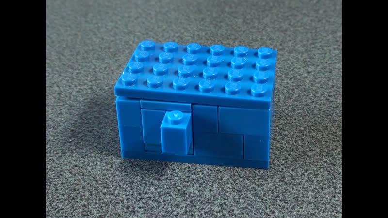 Как сделать сейф из ЛЕГО 3 Самоделки из Лего Lego