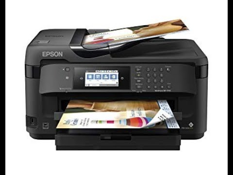 Epson WF 7710 Review, Unboxing and Printer Setup Exclusive Offer In Description Box