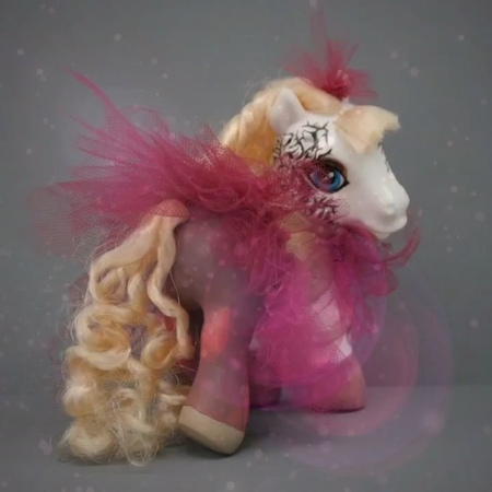 """Emilie Autumn on Instagram: """"TBT this Painted Doll pony made and gifted by an extremely talented and skilled Plague Rat! 🐀 I also have a collection..."""