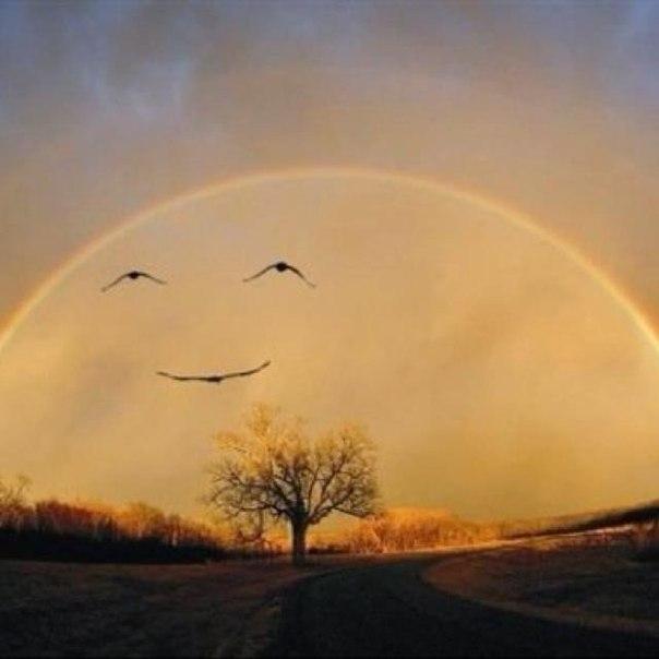 Мир начинается с улыбки