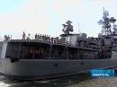 В Ливерпуль с визитом прибыл противолодочный корабль Северного флота `Адмирал Чабаненко` - Первый канал