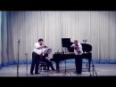Александр фон Цемлинский Трио для фортепиано кларнета и виолончели ре минор I часть