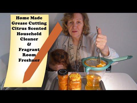 DIY Household Cleaner Citrus Room Fragrance