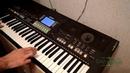 Фантазер игра на синтезаторе Yamaha psr-550