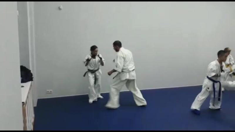 Тренировочный спаринг
