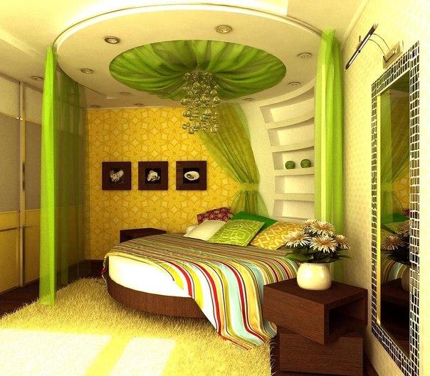 Дизайн спальни 4 5 на 2 5