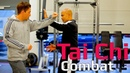 Tai chi combat tai chi chuan How to use tai chi to deal with jab and cross Q11