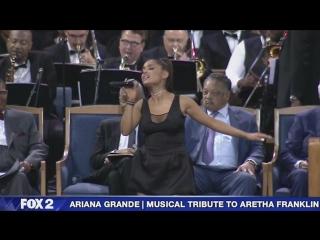 Ariana Grande - 'Natural Woman' at Aretha Franklin's funeral