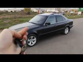 BMW E34 5 серия 1994г. Обзор (интерьер, экстерьер, двигатель).