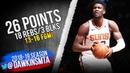 Deandre Ayton Full Highlights 2018 12 23 Suns vs Nets 26 Pts 18 Rebs 3 Blks FreeDawkins