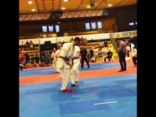 Araslan Dzhafarov- VAZARI Kyokushin Karate European Open Szolnok Cup 2018🇭🇺