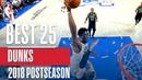 Best Dunks of the 2018 NBA Playoffs! NBANews NBA NBAPlayoffs