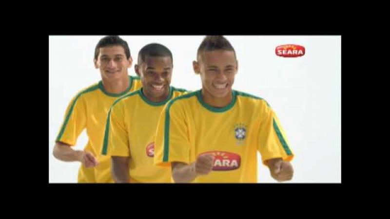 Robinho, Neymar e Ganso no comercial da Seara - OFICIAL