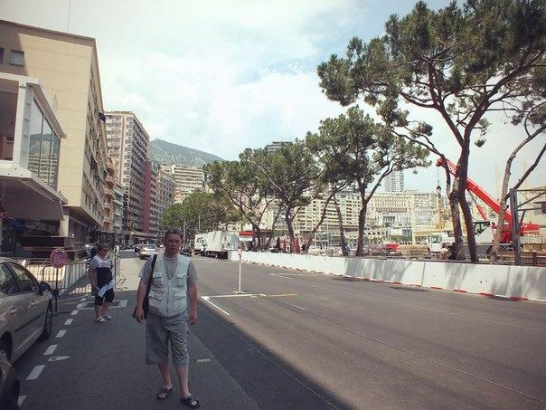 На стартовой решётке Гран При Монако