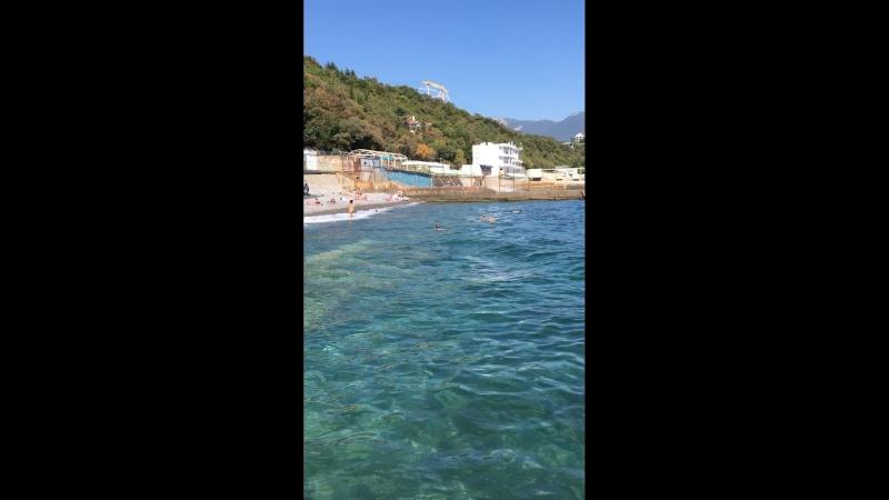 Море 🌊 Ялта. Ливадия. Крым.