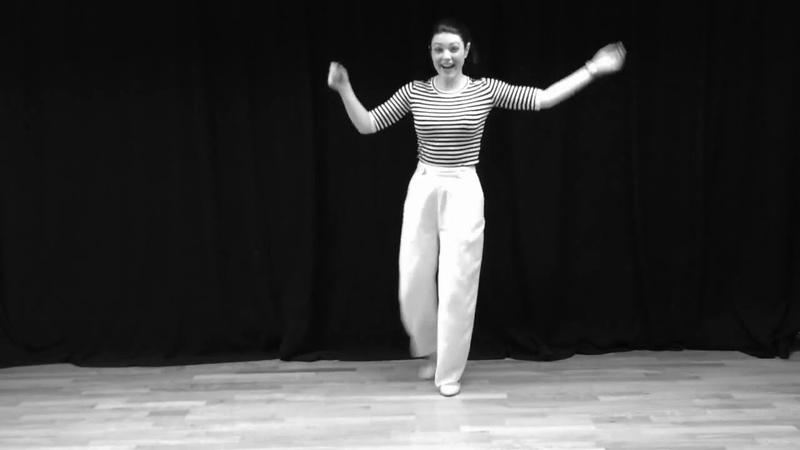 Sharon Davis dances the Al Leon Shim Sham