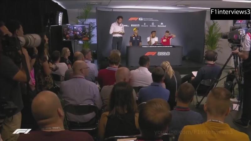 2018 Australia - Drivers Press Conference