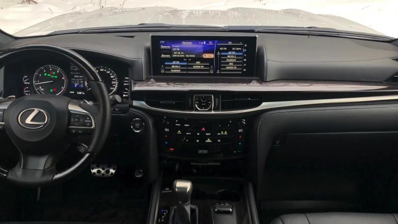 Обзор Lexus LX 570 в версии Superior - в чём превосходство [4k_UHD]