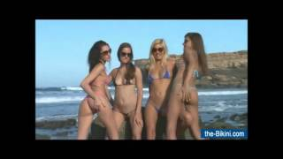 18 mini micro topless bikini sexy babes on beach 18 only