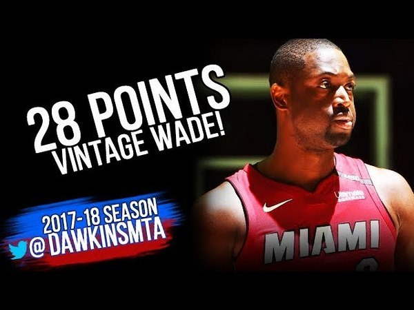 Dwyane Wade Full Highlights ECR1 Game 2 Miami Heat vs 76ers - 28 Pts, ViNTAGE! | FreeDawkins