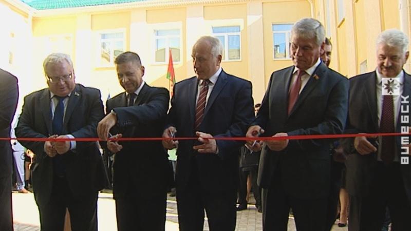 В Лиозно открыли культурно-оздоровительный центр (16.20.2018)