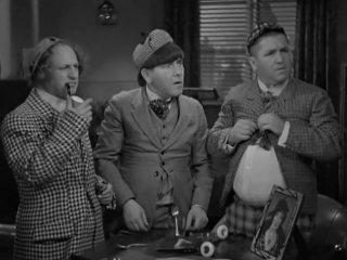 The Three Stooges - 005 - Horses Collars (1935) (Moe, Larry, Curley) (DivX) [DaBaron] (18m12s)