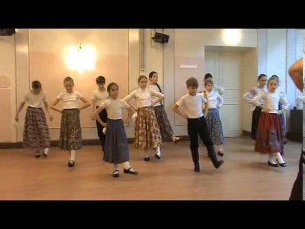 Открытый урок по традиционному танцу 3 класс