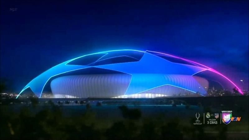 UEFA Champions League 2019 Intro Santander Nissan