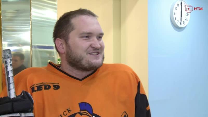 Открытие любительского чемпионата Мордовии по хоккею