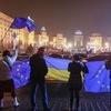Типичный Киев про Майдан.