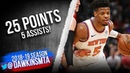 Dennis Smith Jr Full Highlights 2019.04.09 Knicks vs Bulls - 25 Pts, 5 Assists!   FreeDawkins